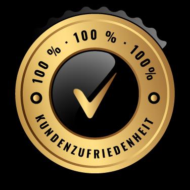 100 Kundenzufriedenheit